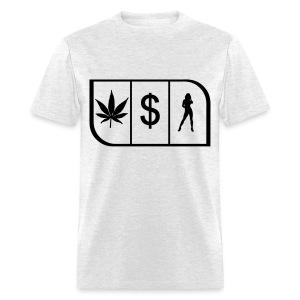 Weed, Money, Women - Men's T-Shirt