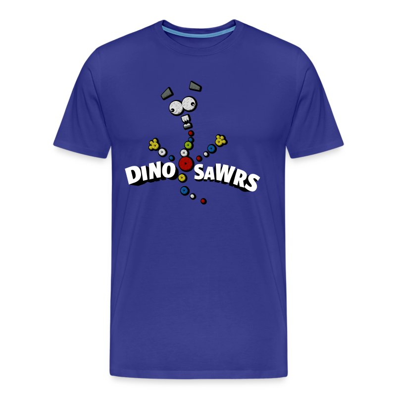 DinoSawrs T-shirt Mens - Men's Premium T-Shirt