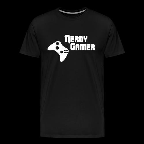 Nerdy Gamer Xbox T shirt - Men's Premium T-Shirt