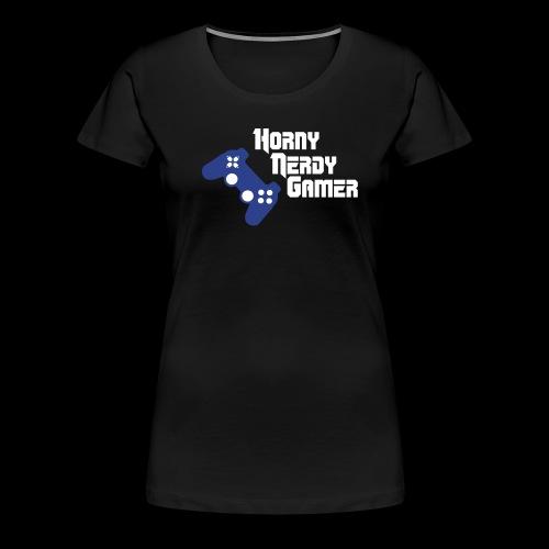 HNG gamer girl Playstation T shirt - Women's Premium T-Shirt