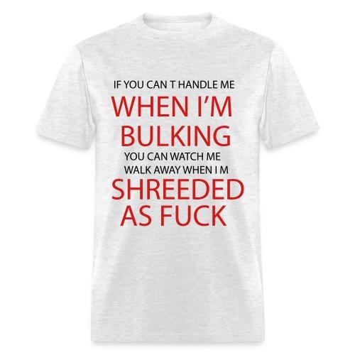 Gym Shreeded - Men's T-Shirt