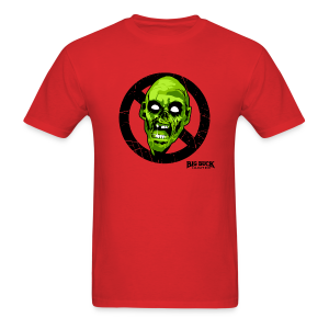No Zombie Zone - Men's T-Shirt