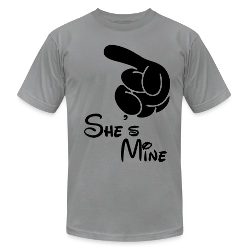 She's Mine (men) - Men's  Jersey T-Shirt