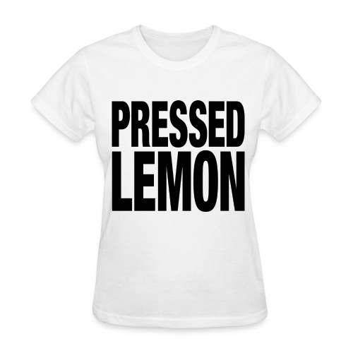 Pressed Lemon - Womens T - Women's T-Shirt