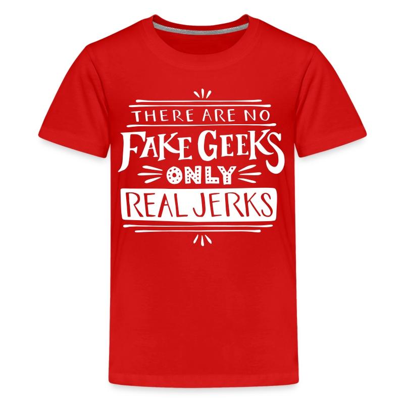 real_jerks_doodads - Kids' Premium T-Shirt