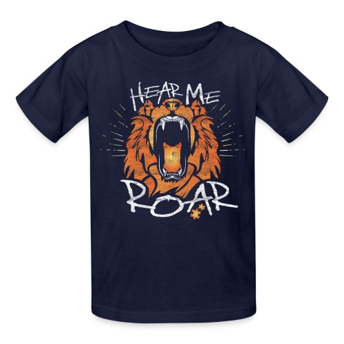 Hear Me Roar - Kids' T-Shirt