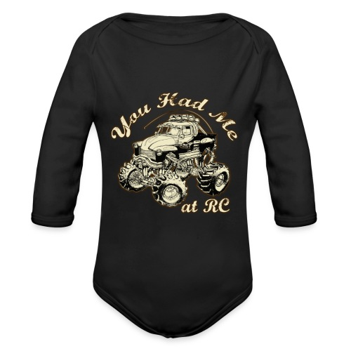 RC BABiES WARM - Organic Long Sleeve Baby Bodysuit