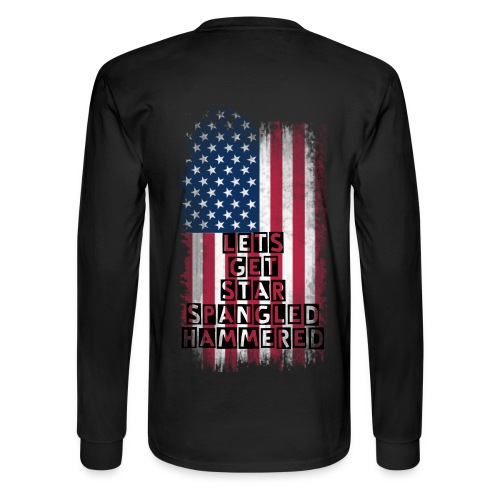 countrylifeco. Star spangled hammered - Men's Long Sleeve T-Shirt