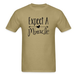 Expect a miracle - Men's - Men's T-Shirt