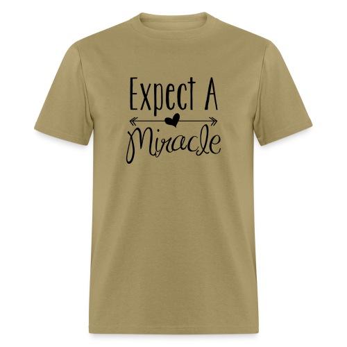 Expect a miracle - Men's - Men's T-Shirt