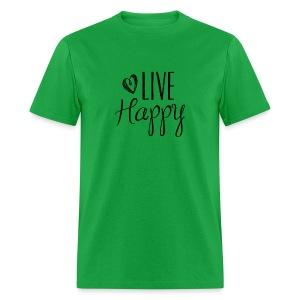 Live Happy - Men's - Men's T-Shirt
