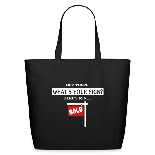 What's Your Sign? Cotton Tote - Eco-Friendly Cotton Tote