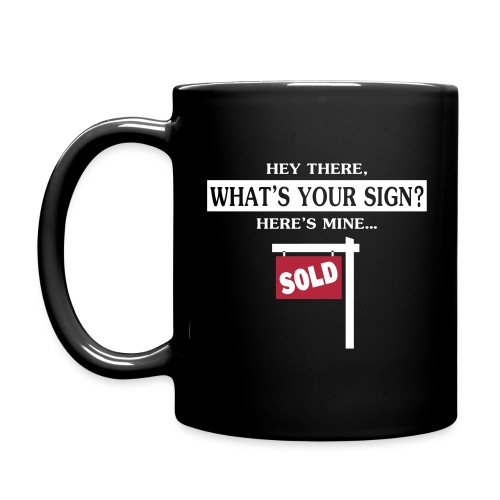 What's Your Sign? Black Right - Full Color Mug