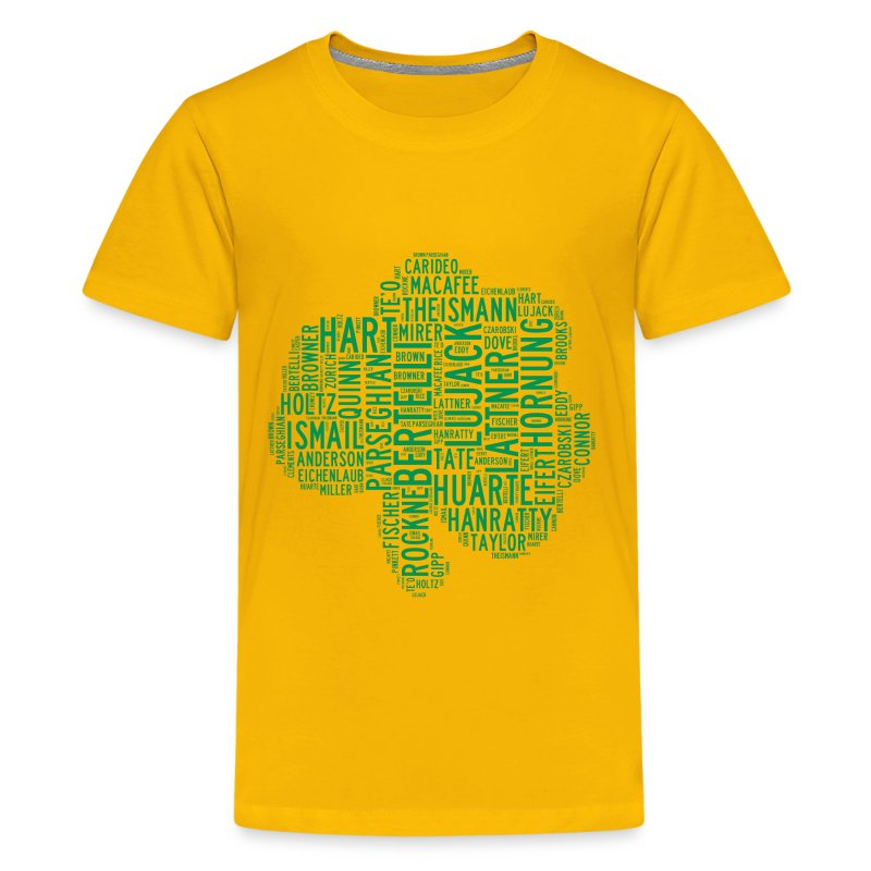 All time notre dame shamrock football greats kid 39 s t shirt for Notre dame youth t shirts
