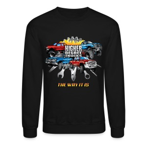 Higher Degree Trucks FRONT - Crewneck Sweatshirt