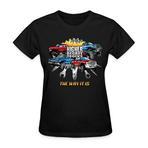 Higher Degree Trucks FRONT - Women's T-Shirt