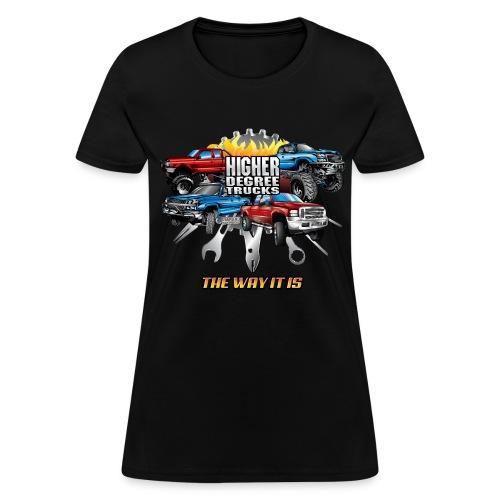 Higher Degree Trucks FRONT - Women's T-Shirt