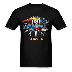 Higher Degree Trucks FRONT - Men's T-Shirt