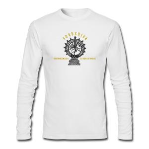 Fukushiva Yellow (Mens Long Sleeve Shirt) - Men's Long Sleeve T-Shirt by Next Level