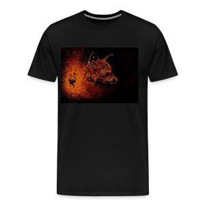 Intimidating Fox - Men's Premium T-Shirt