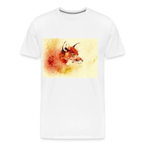 Intimidating Fox Color - Men's Premium T-Shirt