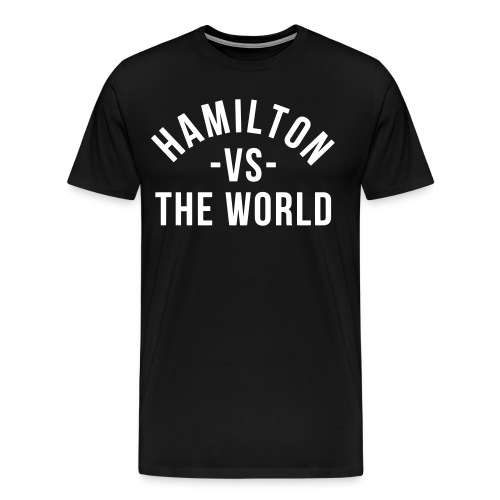 Hamilton vs... - Men's Premium T-Shirt