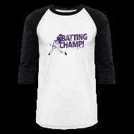 T-Shirts ~ Men's Baseball T-Shirt ~ 2015 Batting Champ - Mens Baseball T-Shirt