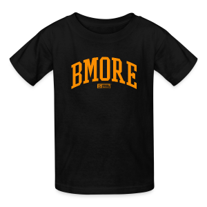 BMORE Orange K - Kids' T-Shirt
