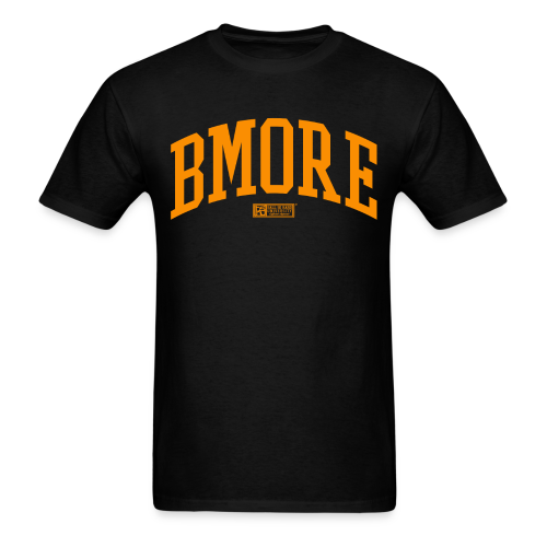 BMORE Orange M - Men's T-Shirt