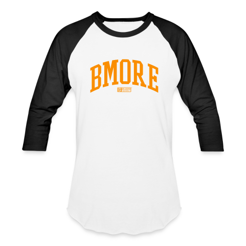 BMORE Orange BALL - Baseball T-Shirt