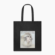 Anti-Vivisection Tote w/ George Bernard Shaw Quote