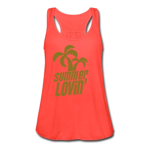 NEW!    Summer Lovin - Women's Flowy Tank Top by Bella
