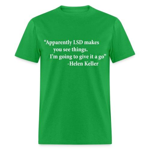 LSD - Helen Keller - Men's T-Shirt