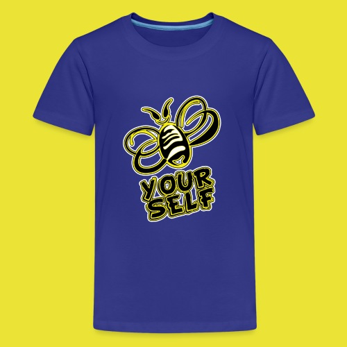 Bee-Yourself (kids) - Kids' Premium T-Shirt