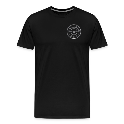 Ballistic BBQ Silver RT Breast - Men's Premium T-Shirt