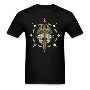 ORNATE CROSS - Men's T-Shirt