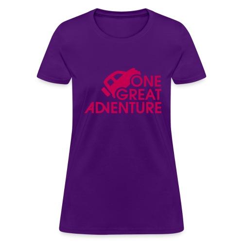 the PINK tshirt - Women's T-Shirt