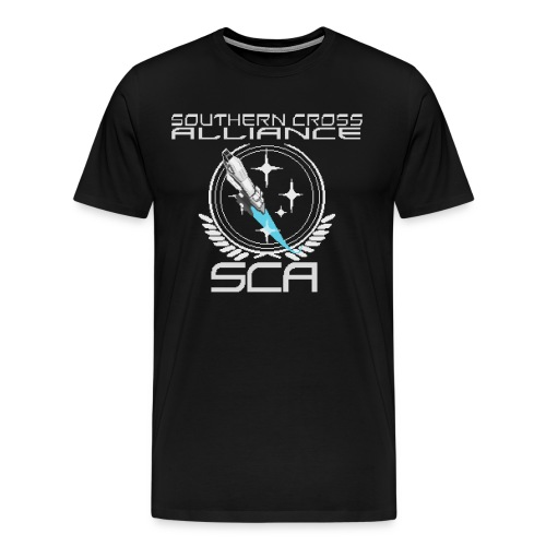SCA Retro Logo Shirt - Men's Premium T-Shirt