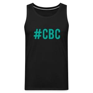 Cock Block Crew Tank (Black) - Men's Premium Tank