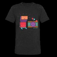 T-Shirts ~ Unisex Tri-Blend T-Shirt ~ Flash & Camera