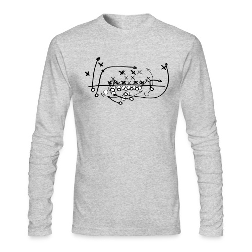 Football Soccer strategy - Men's Long Sleeve T-Shirt by Next Level