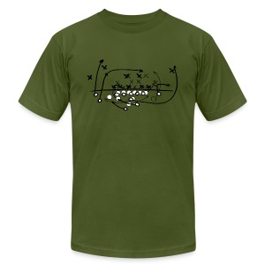 Football Soccer strategy - Men's T-Shirt by American Apparel