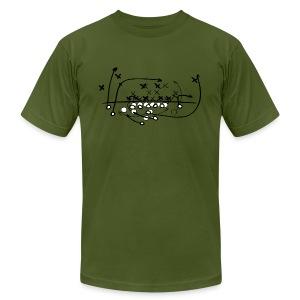Football Soccer strategy - Men's Fine Jersey T-Shirt