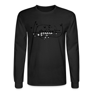 Football Soccer strategy - Men's Long Sleeve T-Shirt