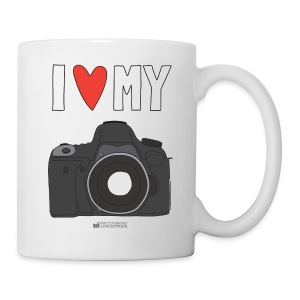 Camera Love Mug - DSLR - Coffee/Tea Mug