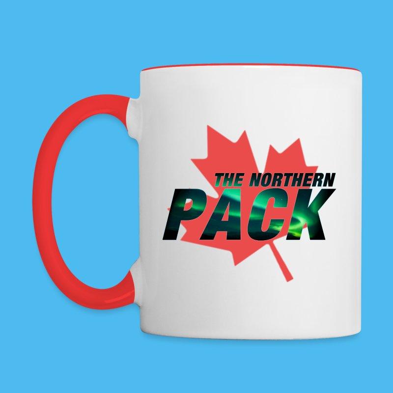 Northern Pack Leaf Coffee Mug - Contrast Coffee Mug