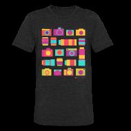 T-Shirts ~ Unisex Tri-Blend T-Shirt ~ Cameras & Lenses