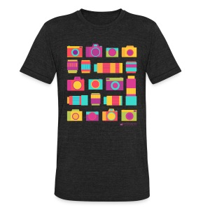 Cameras & Lenses - Unisex Tri-Blend T-Shirt by American Apparel