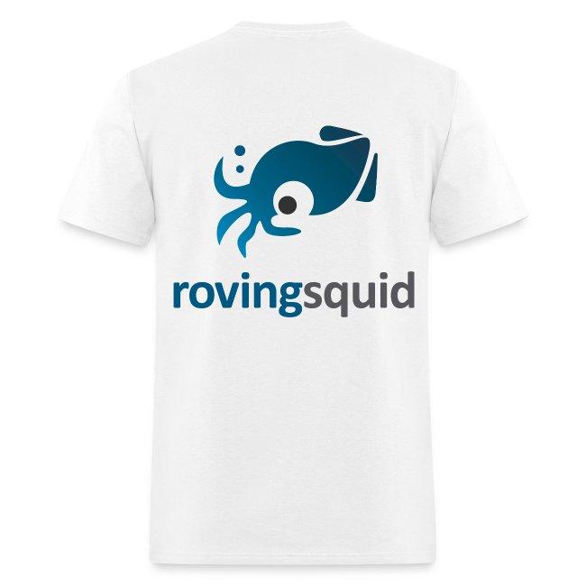 Roving Squid Men's Logo T-shirt