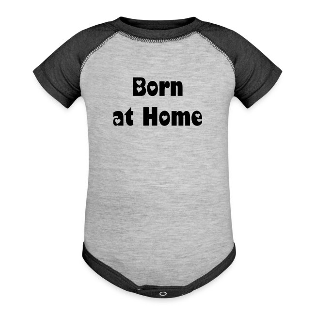 e3410117c MADE BY MOMMA | Born at Home - Contrast Baby Bodysuit